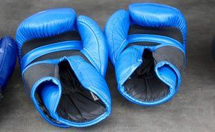 Illustration de gants de boxe.