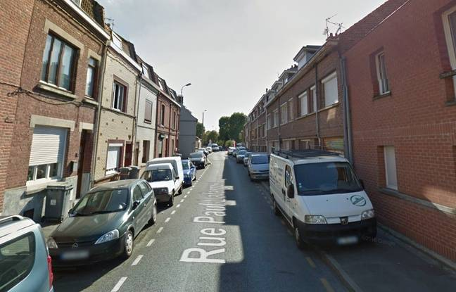La rue Paul-Lafargue, à Loos (Nord)