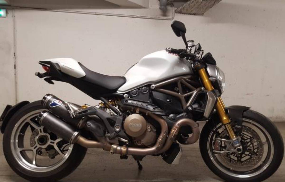Une moto proposée sur Le bon coin pour le double de son prix d'origine.  – Benhard sur Le bon Coin