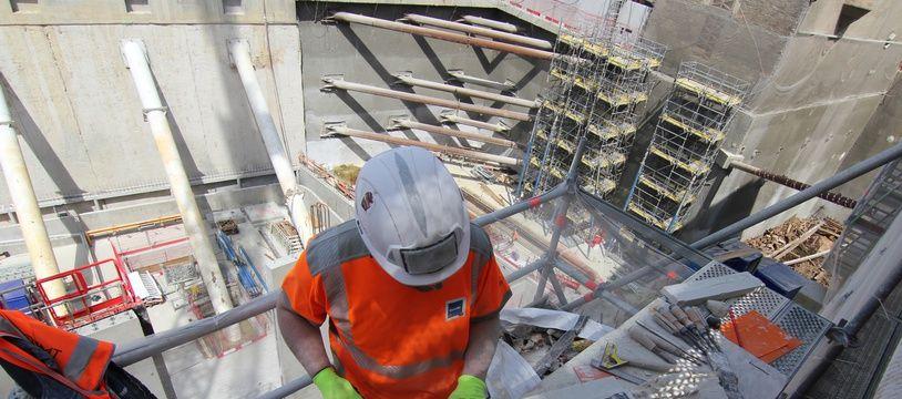 L'emploi dans la construction a progressé de 0,9% au premier trimestre en Bretagne.