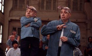 Docteur Denfer et son mini-moi, stars de rap, dans «Austin Powers : Goldmember»