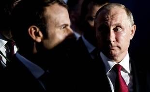 Emmanuel Macron a invité Vladimir Poutine quelques semaines après son élection lors d'une rencontre à Versailles.