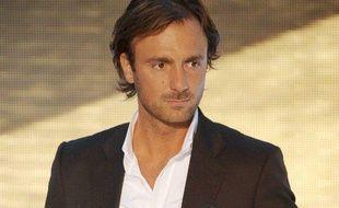 L'ancien footballeur français Christophe Dugarry, reconverti consultant sur Canal+
