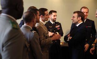 Emmanuel Macron devant les Armées, ce vendredi 7 janvier