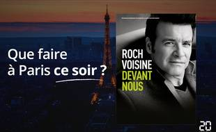 Roch Voisine chante ce soir au Grand Rex.