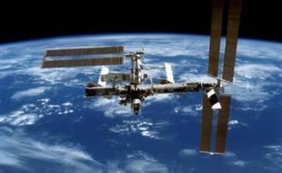 Une vue des modules de la station internationale. Les modules sont en majorité de fabrication russe.