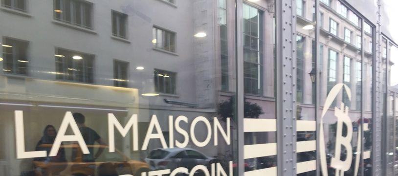 La Maison du Bitcoin, à Paris.