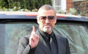 George Michael à Londres en 2012