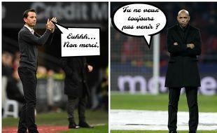 L'entraîneur du Stade Rennais Julien Stéphan avait failli devenir l'adjoint de Thierry Henry à Monaco.