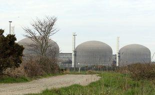 La centrale nucléaire de Paluel (Seine-Maritime).