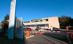 L' hopital psychiatrique Edouard Toulouse à Marseille, le 12 novembre 2012.