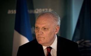François Asselineau, candidat de l'UPR.