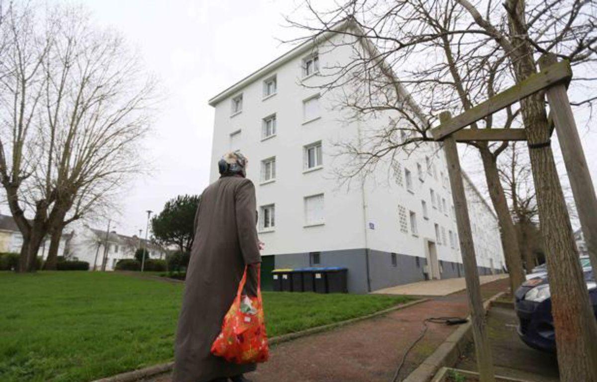 L'immeuble de Saint-Nazaire où une famille a vécu recluse pendant un à trois ans jusqu'au 5 janvier 2013. – FABRICE ELSNER / 20 MINUTES