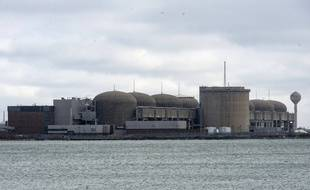 La centrale nucléaire de Pickering, à l'est de Toronto, au Canada.
