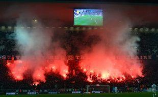 Le soir de Bordeaux-OM, les Ultramarines avaient fêté leurs 30 ans à grand renfort de fumigènes.