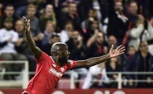 La joie du Julio Tavares qui a inscrit le deuxième but pour Dijon.