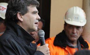"""""""L'état d'esprit, c'est l'espoir quand même"""", confiaient en début de semaine de nombreux salariés d'ArcelorMittal à Florange, après l'annonce par Arnaud Montebourg d'une possible """"nationalisation temporaire"""" du site."""
