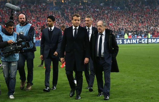 Coupe de France: Non, Emmanuel Macron n'a pas été snobé par un membre du Stade rennais pendant la finale