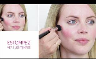 Tuto Maquillage: L'overblush