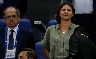 La ministre des Sports Roxana Maracineanu et le président de la Fédération française de football Noël Le Graët étaient opposés ces derniers jours sur la question des insultes homophobes dans les stades.