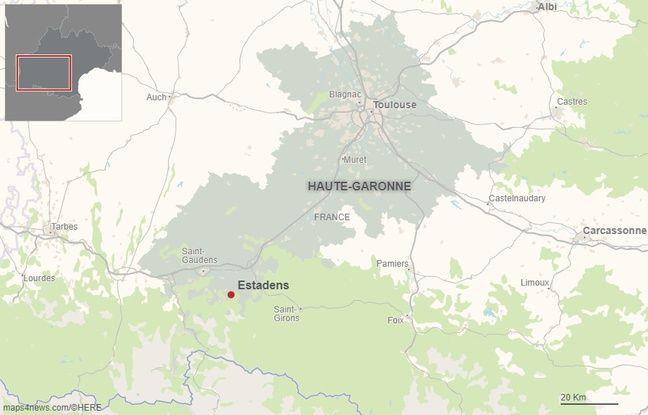 La commune d'Estadens en Haute-Garonne.