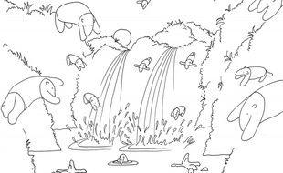Philippe Katerine met en images les chansons de Julien Baer sur les tapirs