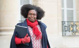 Sibeth Ndiaye à l'Elysée le 13 novembre 2019.