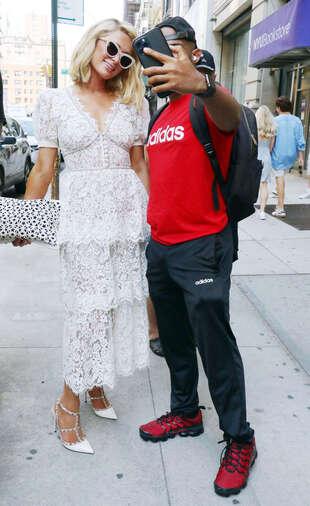 Paris Hilton, le 21 juin, dans le quartier de Soho à New York.