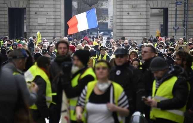 «Gilets jaunes» à Rennes: Une rumeur infondée de décès et des heurts lors de la manifestation