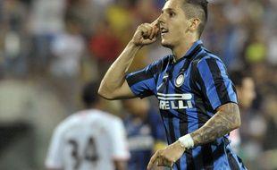 Stevan Jovetic avec l'Inter de Milan