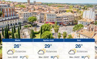 Météo Montpellier: Prévisions du dimanche 21 juillet 2019