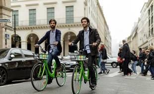 Les vélos verts de Gobee.bike ont débarqué à Paris début octobre.