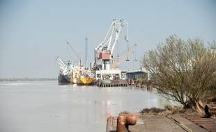 Illustration du port de Bassens - Photo : Sebastien Ortola