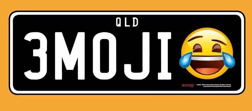 Dans l'Etat australien du Queensland, les automobilistes pourront bientôt intégrer un émoji sur leurs plaques d'immatriculation.