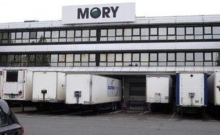 Locaux de Mory Ducros à Gonesse, près de Paris, le 22 novembre 2013.