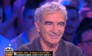 Raymond Domenech sur D8 le 3 décembre 2015.