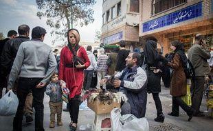 Iran : une vue de Téhéran