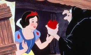 Extrait du dessin animé Blanche-Neige et les sept nains des studios Disney