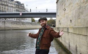 Mathias Malzieu a réalisé plusieurs plans de son film Une Sirène à Paris sur les quais de l'île Saint-Louis