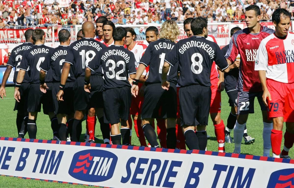 La Juventus en Serie B, saison 2006-07 – AFP