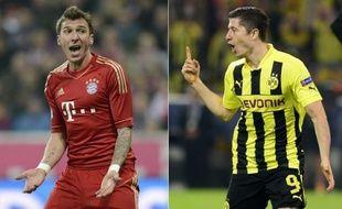 La finale de la Ligue des Champions mettra aux prises samedi à Londres le Bayern Munich, favori, et le Borussia Dortmund, deux équipes qui ont enchanté l'Europe en demi-finales et dont l'affrontement doit confirmer l'avènement du football allemand au sommet de l'Europe.