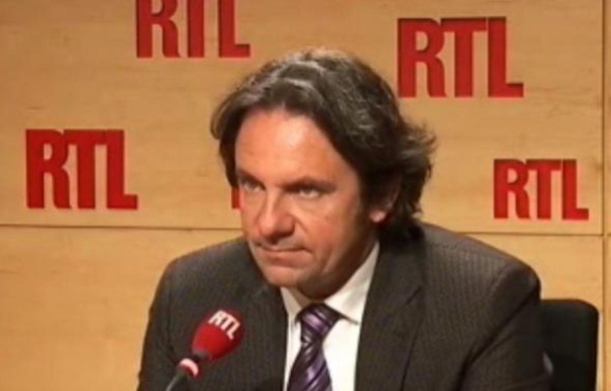 Frédéric Lefebvre sur RTL le 19 octobre 2009. – DR