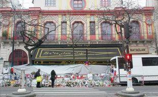La salle de spectacle du Bataclan à Paris, le 13 décembre 2015