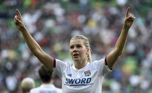 Le 18 mai dernier, Ada Hegerberg a remporté sa quatrième Ligue des champions avec l'OL contre le Barça.