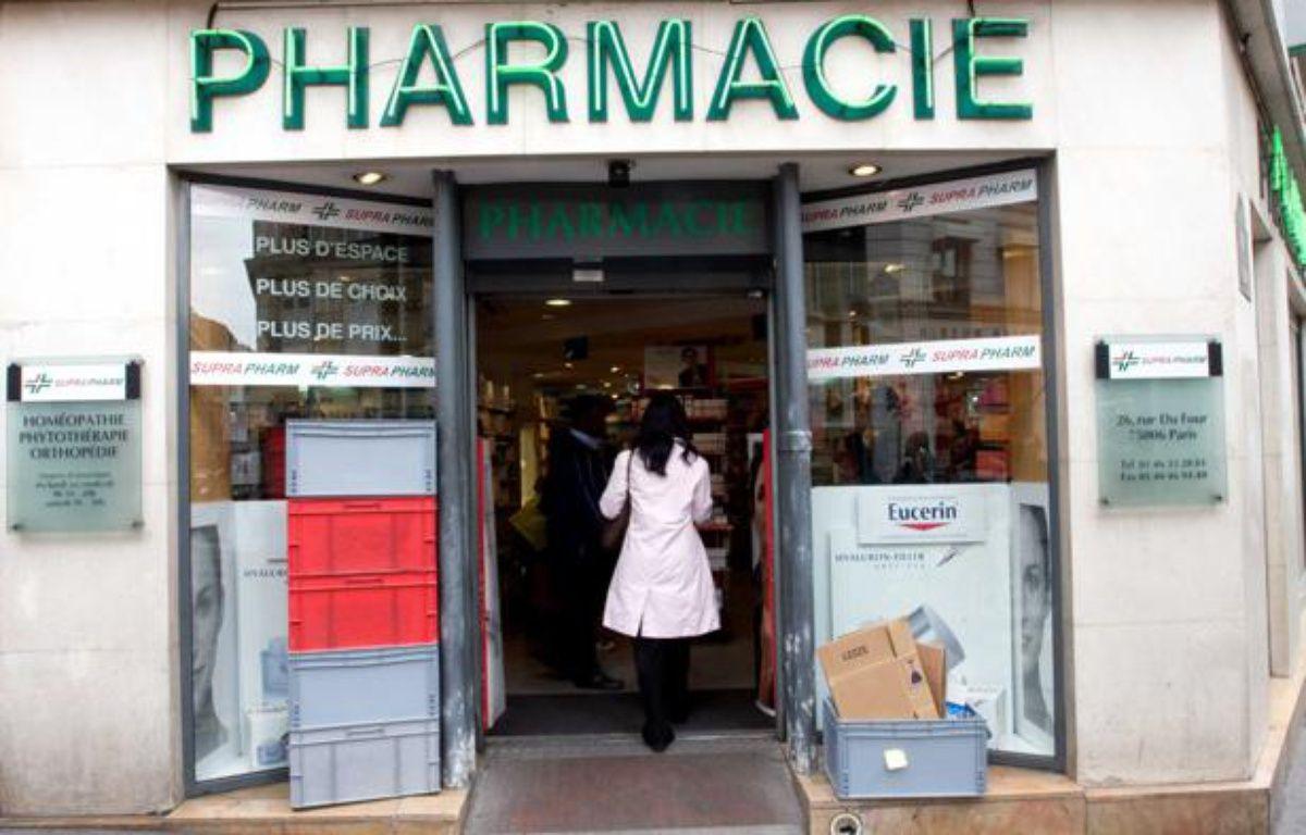 Une pharmacie à Paris en 2009. – DUCROT BENOIT/SIPA