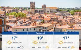 Météo Montpellier: Prévisions du dimanche 9 mai 2021