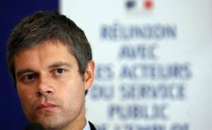 """Le secrétaire d'Etat à l'Emploi, Laurent Wauquiez, a précisé mardi sur i-Télé que le plan emploi destiné à lutter contre la remontée du chômage provoquée par la crise financière, serait annoncé """"la semaine prochaine par le président de la République""""."""