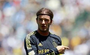 David Beckham aux Los Angeles Galaxy en juillet 2011.