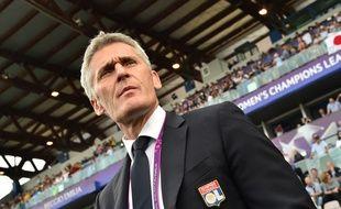 Gérard Prêcheur, jeudi avant le coup d'envoi de la finale de Ligue des champions à Reggio Emilia.