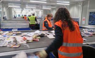 Au Rheu près de Rennes, l'usine Paprec  a la capacité de traiter 60.000 tonnes de déchets par an.